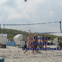 mobiles-Volleyballnetz