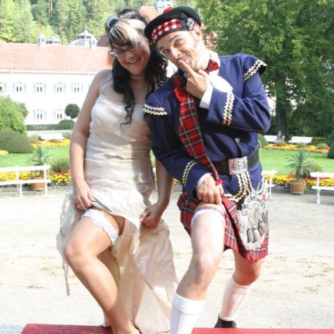 Hochzeitwalkact